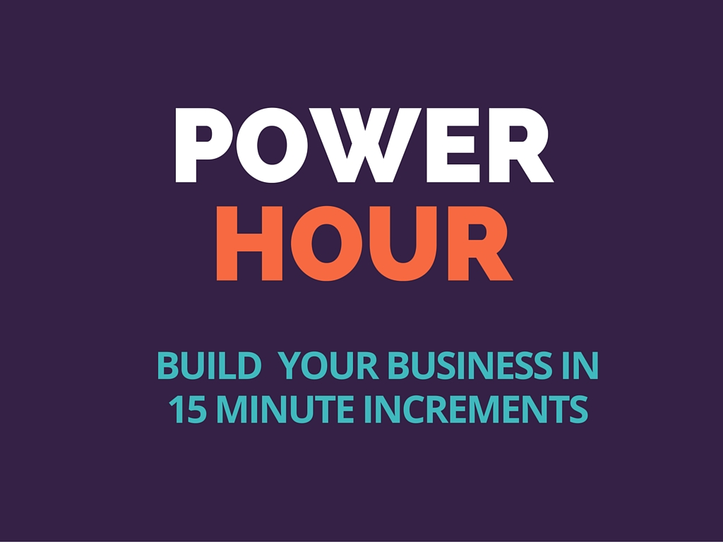 How To Work Your Network Marketing Business In 1 Hour A Day