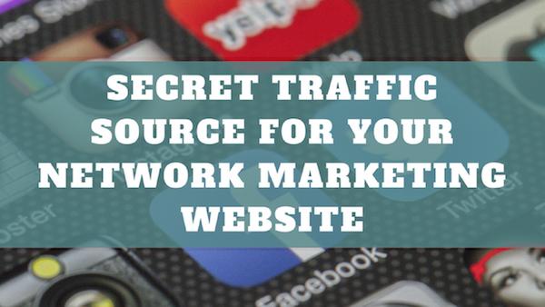 Secret Traffic Source For Your Network Marketing Website